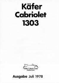 Prospekt Frontseite 1978